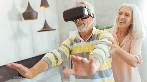 Stoel Voor Ouderen : Reizen vanuit je stoel: virtual reality in het verpleeghuis